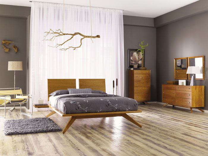Astrid Bedroom Furniture Set Sale | American Made In VT | Organic Solid  Cherry Wood |