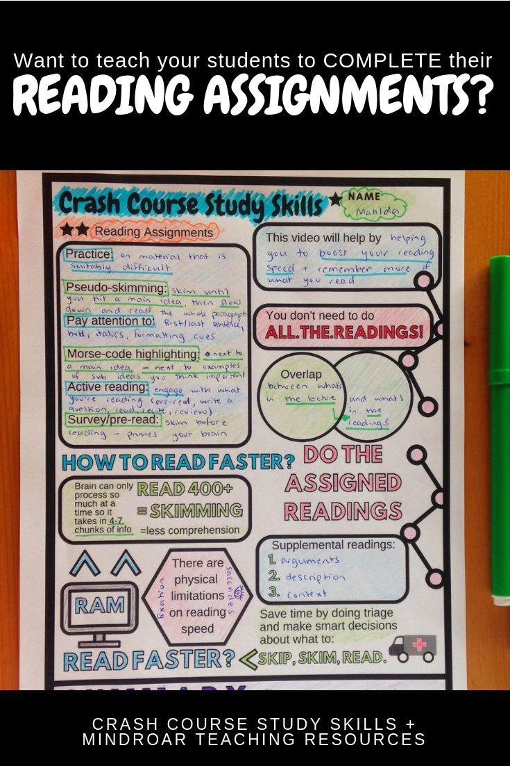 middle school study skills worksheets pdf
