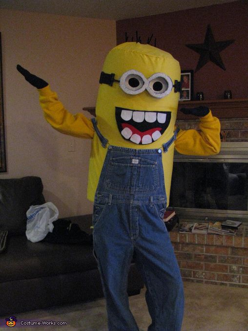 Minion Costume | Homemade, Costume ideas and Farms