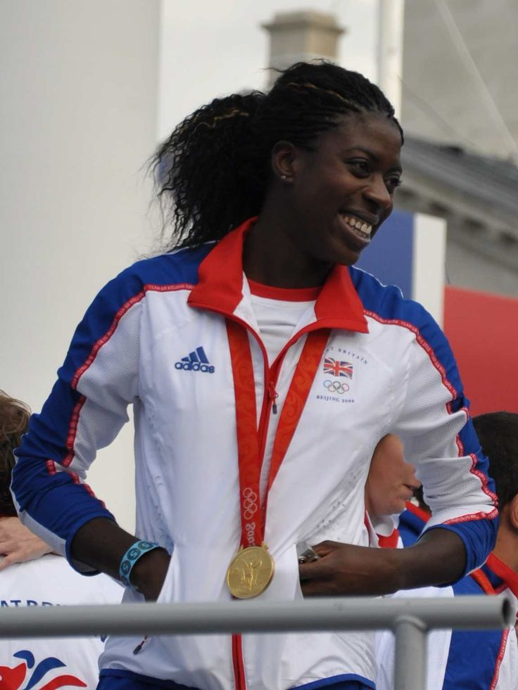 Christine Ohuruogu. One of most successful British athletes of all time.