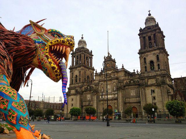 Alebrijes, Arte popular. Ciudad de México