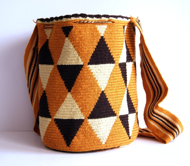 Wayuu Bag  $90 http://www.caritocaro.com/wayuubags/wayuu-medium-bag-333.htmlFashion Handcrafted by Artisans Wayuu Bags