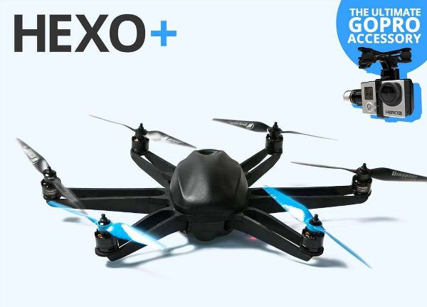 Hexo+, le drone autonome qui vous suit pour filmer vos exploits