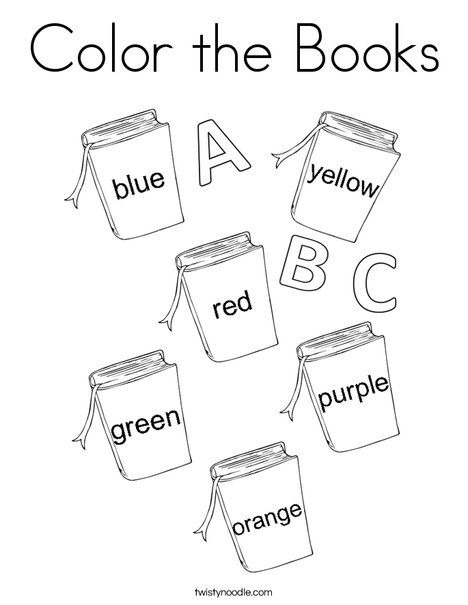 146 Best Color Activities And Mini Books Images On Pinterest