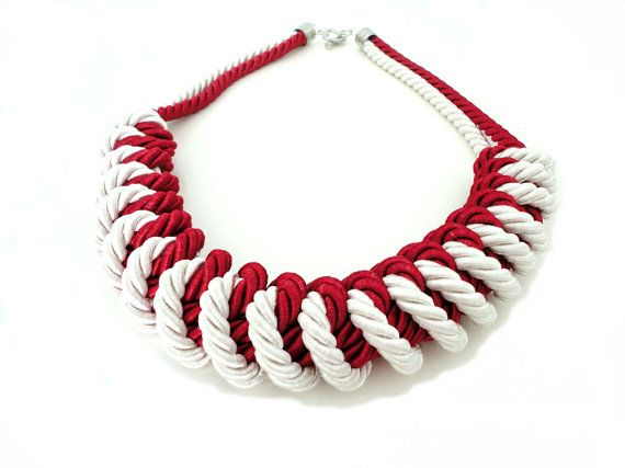 126 best images about diy necklaces on pinterest see for Rope designs and more