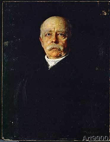 Franz Seraph von Lenbach - Otto von Bismarck / Portrait / c. 1890
