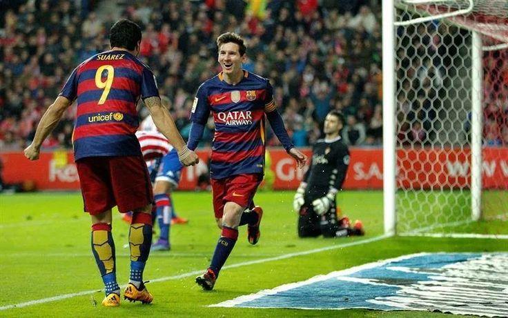 Foto: Messi Stats in 2016 : 12 games 14 goals 7 assists  Suarez Stats in 2016 : 11 games 14 goals 8 assists
