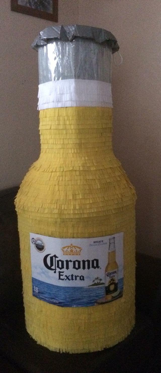 Corona Beer Bottle Piñata | My Piñatas in 2019 | Corona beer, Bottle