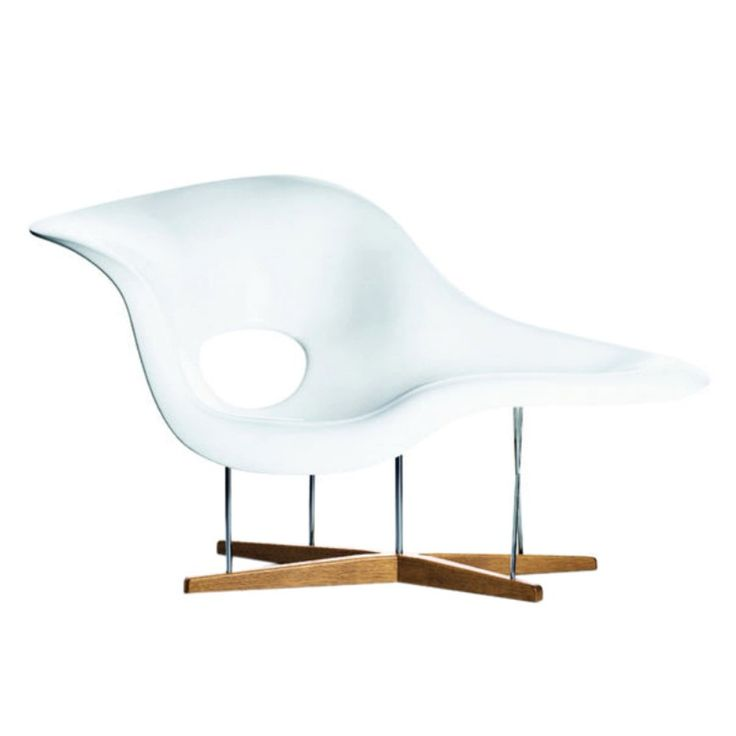 Charles and Ray Eames La Chaise Vitra