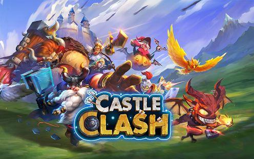 Castle Clash: Brave Squads: miniatura de captura de pantalla