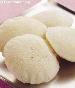 This is the standard idli recipe from south india, where idli is so greatly loved that they would not mind having it for breakfast and once again for dinner too! it is considered 'safe food' as it is steamed, and can be had anytime (even when you are unwell), and anywhere (even at roadside shops).