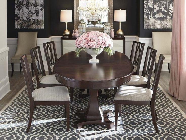 Oval Dining Room Image Review