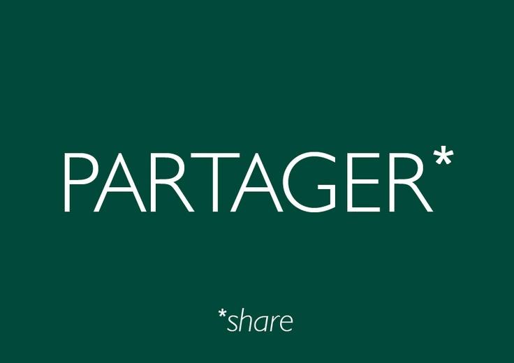 """""""Partager"""" couleur #Cèdre"""
