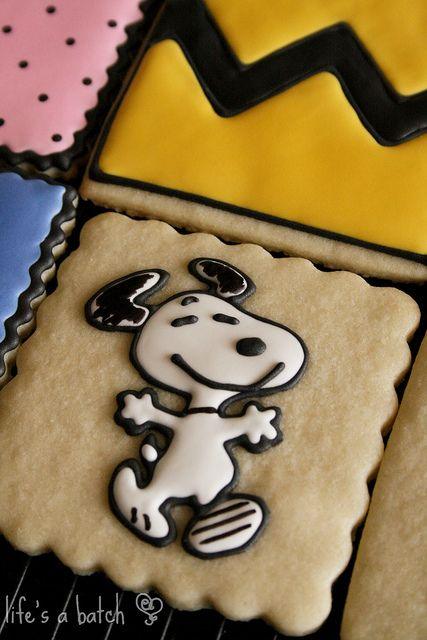 Snoopy Sugar Cookies