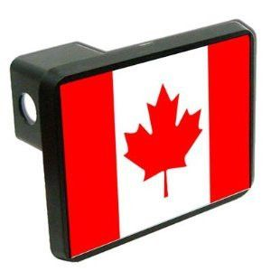 Canada Flag Trailer Hitch Cover