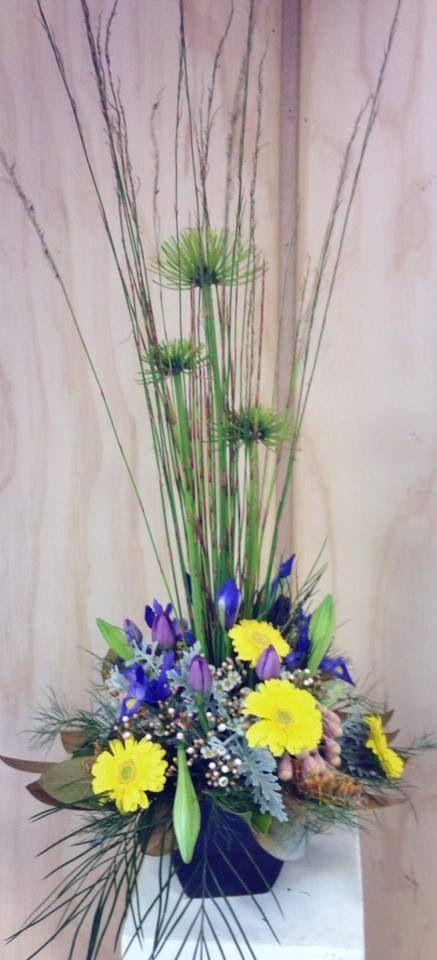 Modern Phoenix arrangement. Little Flower lane.