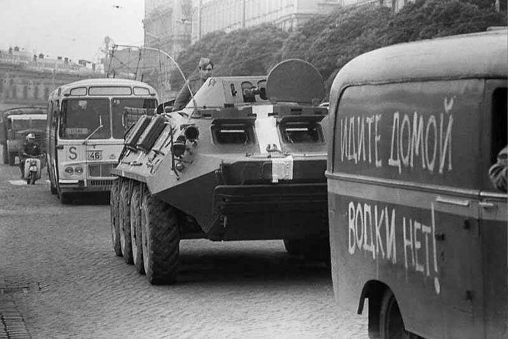 August 1968, Czechoslovakia