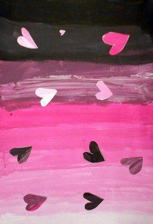 Черный и розовый цвет