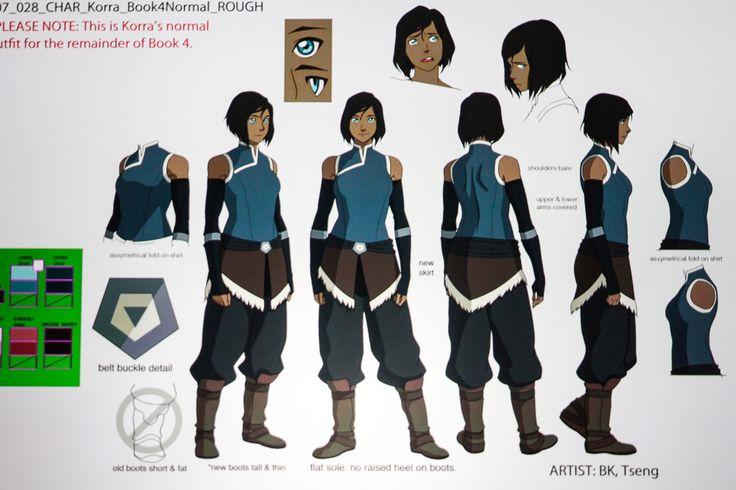 Legend of Korra Book 4 Concept Art - Korra.