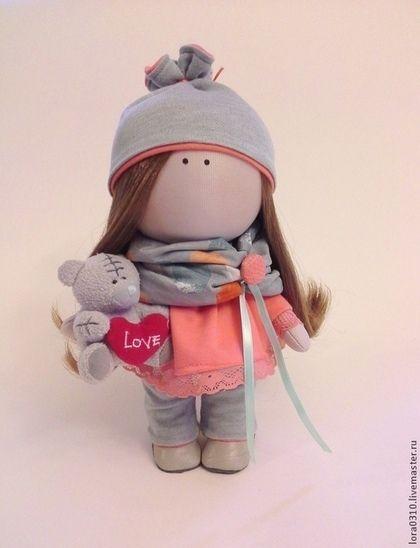 Варенька - авторская кукла,интерьерная кукла,текстильная кукла,подарок девушке