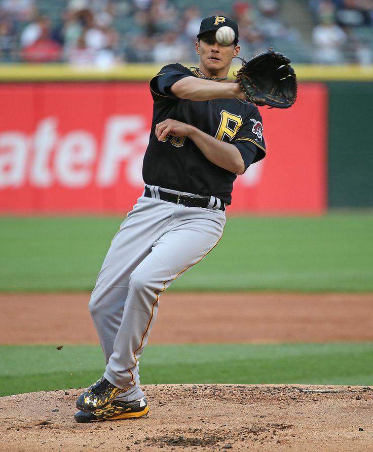 Jeff Locke in Pittsburgh Pirates v Chicago White Sox