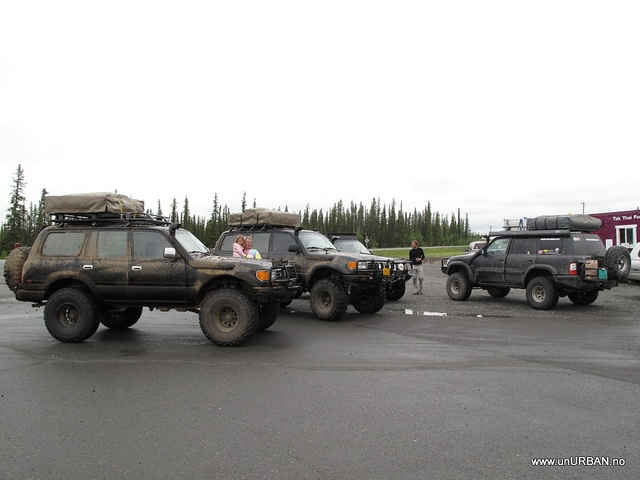 Nice expo vehicles with ARB bull bars.  #overlanding #ARB #bullbar