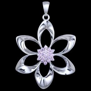 Lovely flower pendant $62.54