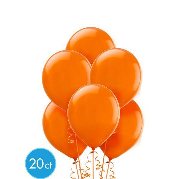 Orange Balloons 20ct