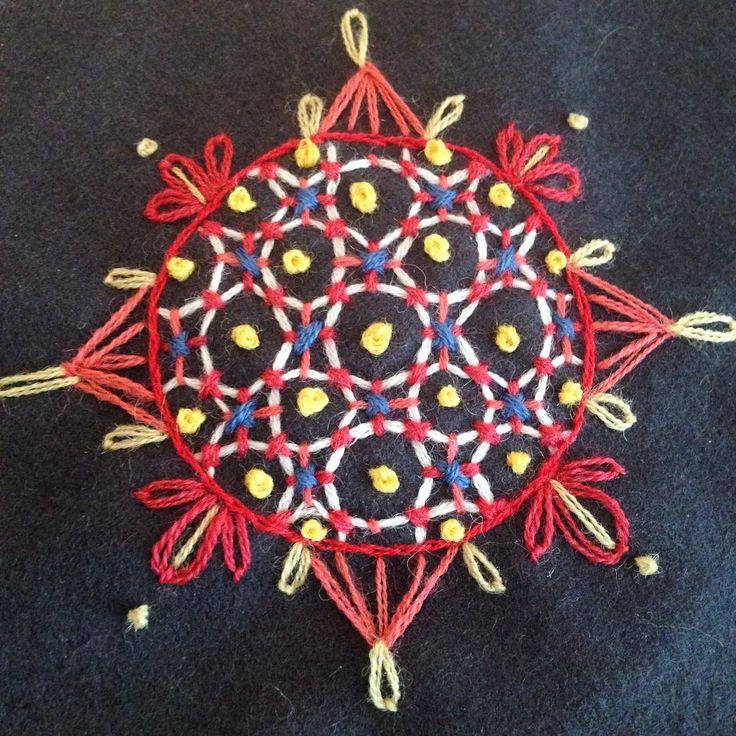 #embroidery #brodera #broderi #franskaknutar #handarbete