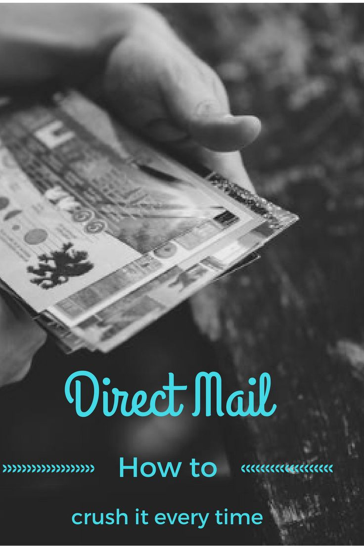 A quick and dirty tutorial on how to crush your direct mail campaign every time.
