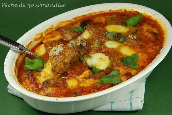 Boulettes de viande à l'italienne Jamie Oliver                                                                                                                                                      Plus