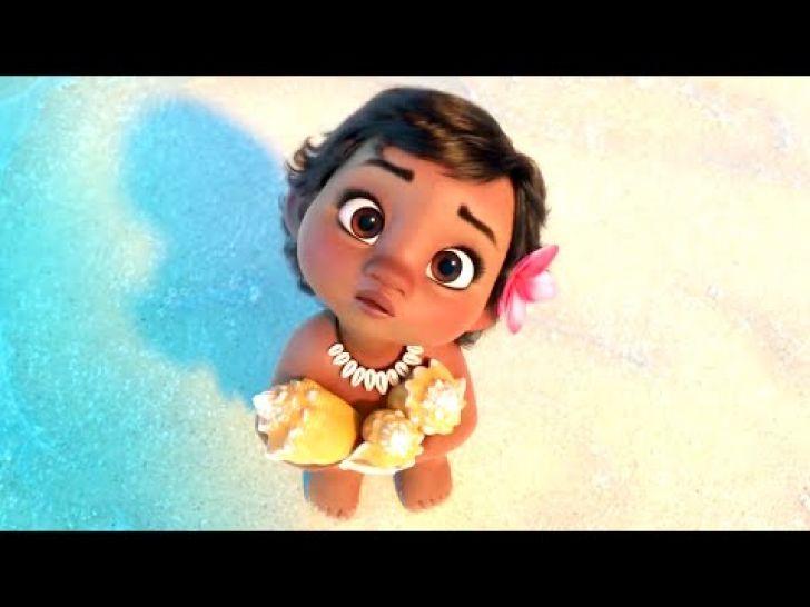 [TROPCHOU] Le trailer de Moana, le nouveau Disney, est tellement mignon ! •…