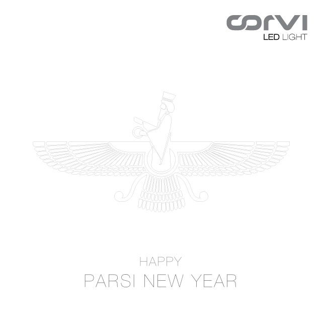 Happy Parsi New Year! May this Navroz be as bright as ever, May this Navroz bring joy, health, and wealth to you, May the light we celebrate at Navroz lead us together on the path of peace and social harmony. #NavrozMubarak from #CorviLED.