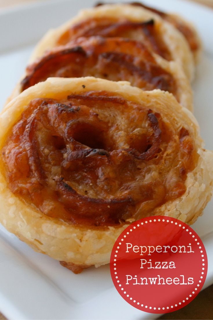 All the flavours of pepperoni pizza rolled up into a bite sized appetizer.