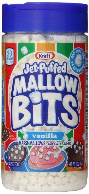 Jet Puffed Mallow Bits, Vanilla, 3 Ounce