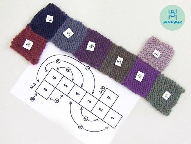 Zapatillas crochet en cuadrados   Aprender manualidades es facilisimo.com