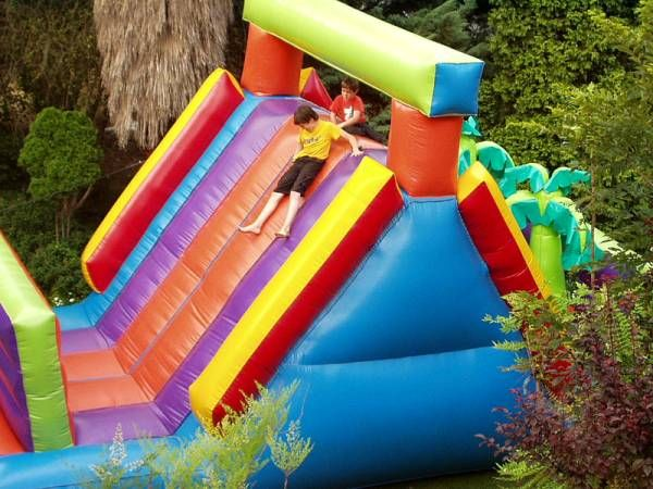 Obstacle Jungle Slide