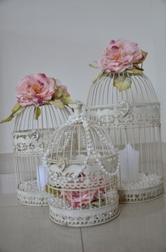 The Christening Directory: Vintage Elegance - Birds, Cages & Flowers