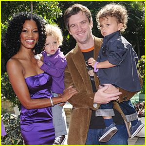 Celebrity Marriage: Mike Nilon & Garcelle Beauvais, (m. 2001-2011; 2 children, twins)