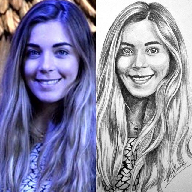 #waybackwednesday #throwback #photocomparison #comparison #sketch #drawing #pencil #portrait #girl #ashleigh #artistic_share #arts_help #arts_unite #artistsoninstagram #artists #iloveart #artist_alleyy #realism #derwent