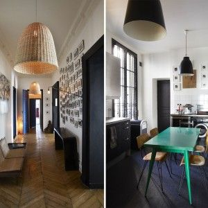Appartement parisien par sarah lavoine d co sarah for Appartement deco pinterest