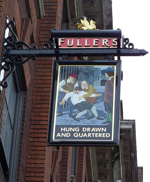 Pub Sign, City of London