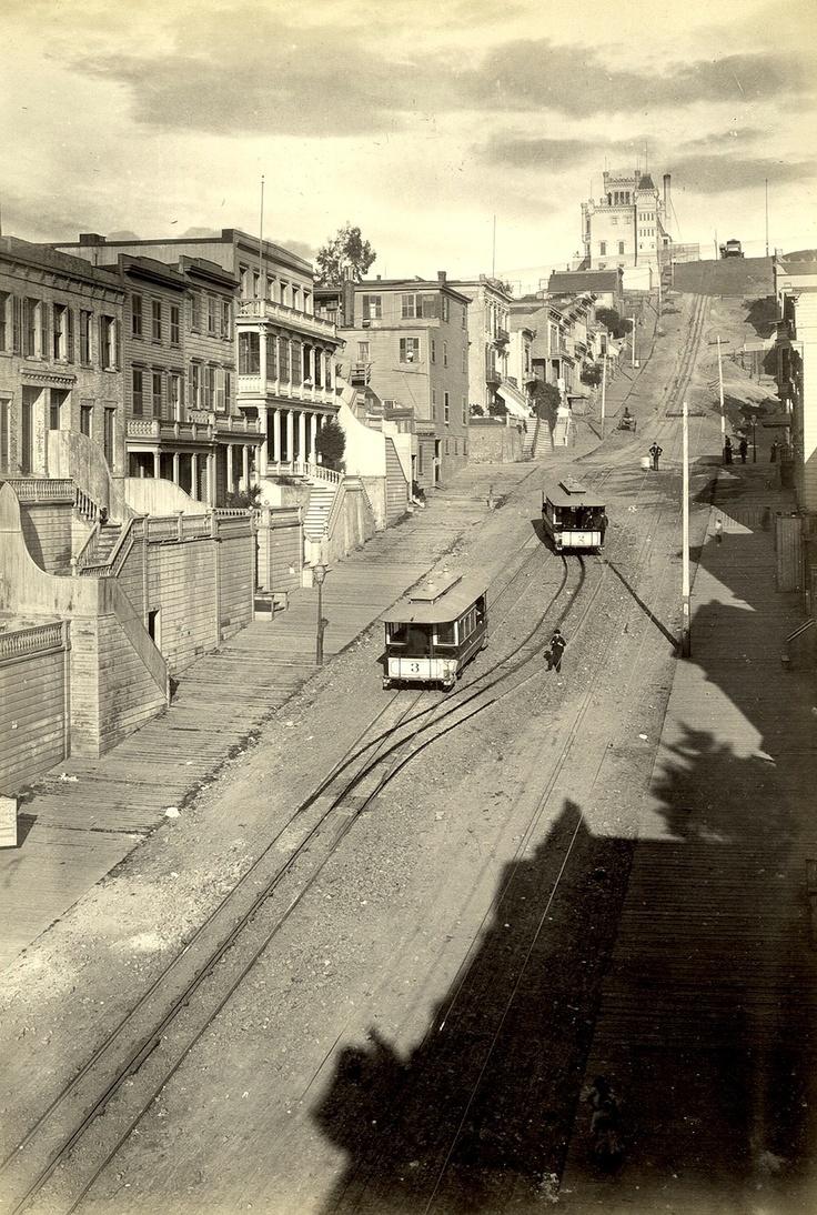 Telegraph Hill, San Francisco c.1890
