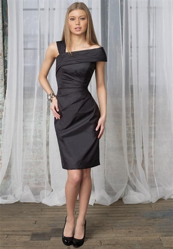 Charcoal Gray Cocktail Dress - Cocktail Dresses 2016