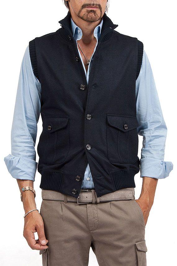 Groppetti Luxurystore GILET - Abbigliamento - Uomo #eleventy
