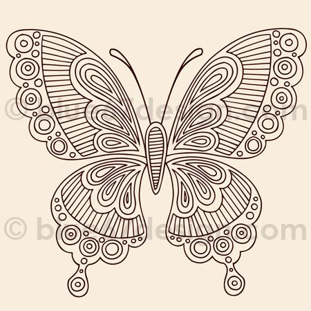 henna butterfly by blue67design, via Flickr..... exquisite butterfly pattern inspiration that can be used in so many different ways & media !