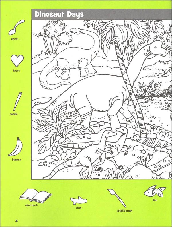 Hidden Pictures: Dinosaur Puzzles   answers   Highlights ...