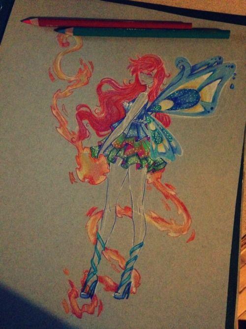 bloom sketch by Aii-Cute