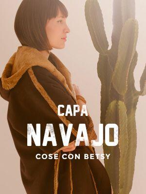 Hola chicas, ¡continuamos con el Cose con Betsy tu Capa Navajo! Hoy entramos en materia seria: patrones, corte y pelusa voladora.