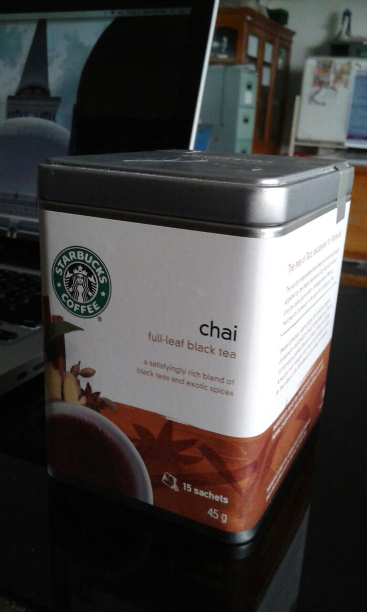 Mampir beli Chai Black Tea by Starbucks. Gimana rasanya? Tar pas buka mari kita cari tahu